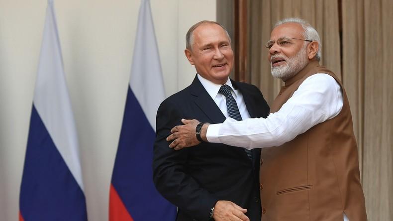 Putin reist nach Indien - S-400-Deal soll trotz US-Drohungen unterzeichnet werden