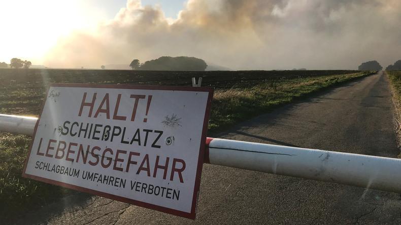 Verteidigungsministerium: Kein Hinweis auf radioaktive Strahlung nach Moorbrand