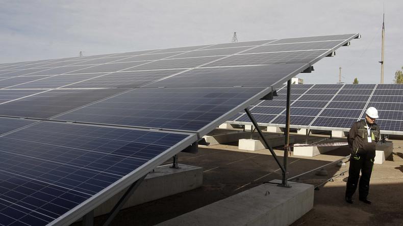Erste Solaranlage in Tschernobyl-Sperrzone geht offiziell ans Netz