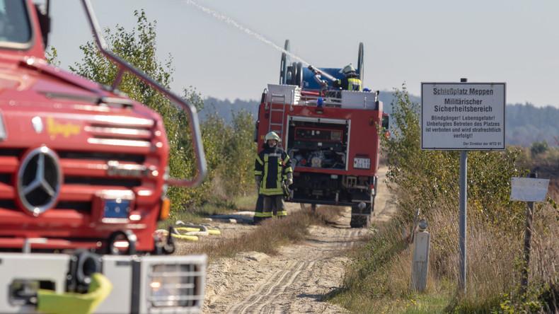 """""""Rein vorsorglich"""" – NachMoorbranderfolgt Prüfung auf radioaktive Strahlung durch NATO-Munition"""