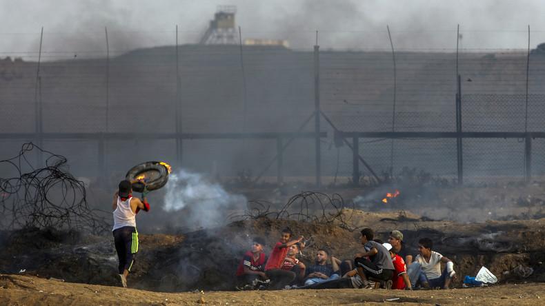 Israelische Soldaten erschießen drei Palästinenser bei Konfrontationen an Gaza-Grenze