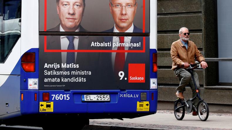 Parlamentswahlen in Lettland