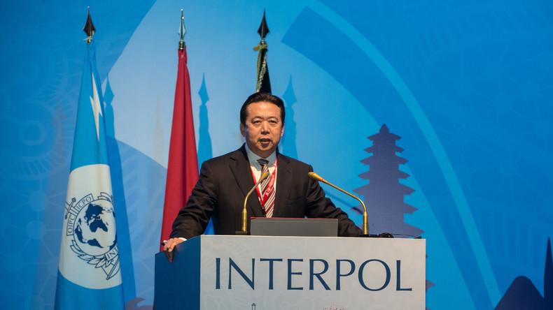 Verschwundener Interpol-Präsident tritt ab – China ermittelt gegen ihn wegen Korruption