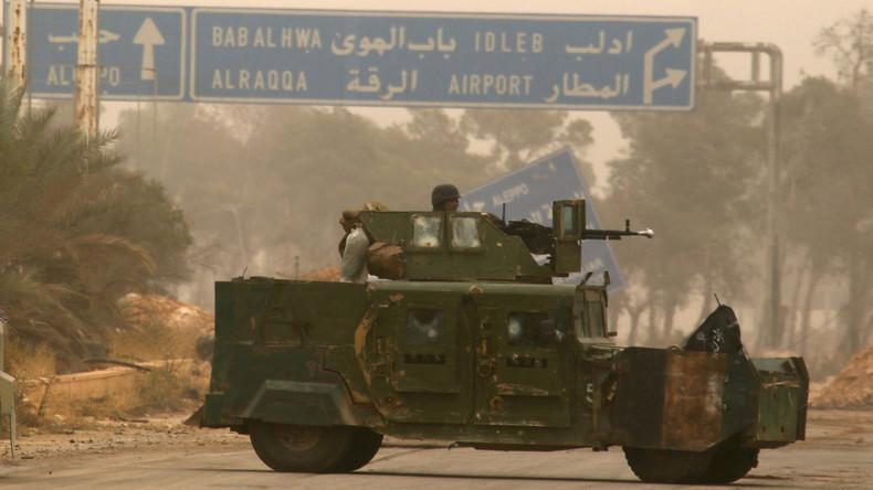 Syrische Rebellen in Idlib ziehen schwere Waffen aus Pufferzone ab