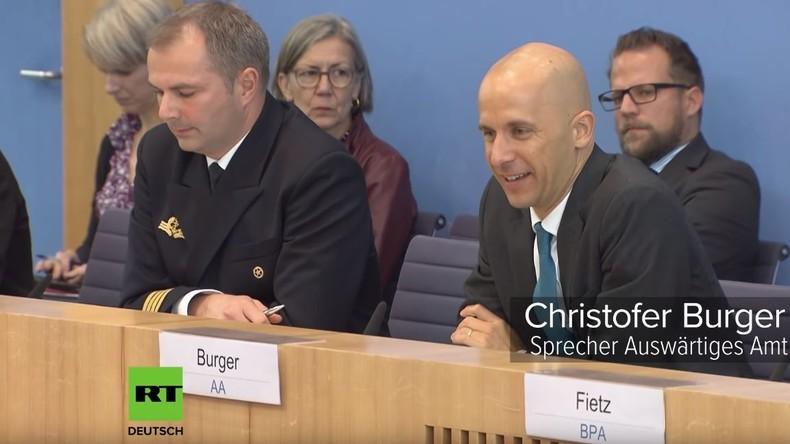 """""""Die Amerikaner haben deutsche Einheit ermöglicht"""" – Außenamtssprecher rechtfertigt Maas-Äußerung"""