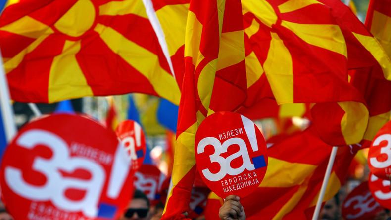 Mazedonien bringt Namensänderung auf den Weg - trotz zu geringer Wahlbeteiligung bei Referendum