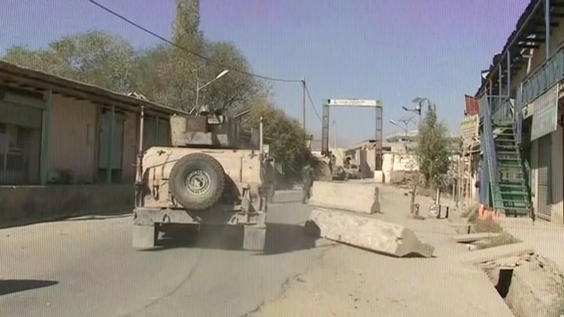 Vor der Wahl in Afghanistan: Mehrere Tote bei Terroranschlag