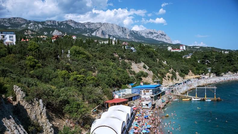 Krim stellt neuen Rekord auf – meiste Touristen seit Sowjetzeit