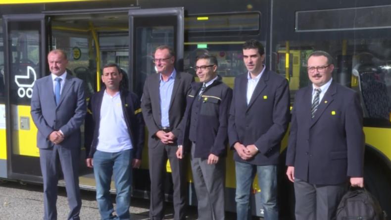 Berlin: BVG startet Initiative und macht Flüchtlinge zu Busfahrern