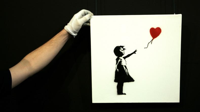 Besitzer schreddert nach Banksys Happening Bild im Wert von 45.500 Euro – Nachahmung ist nichts wert