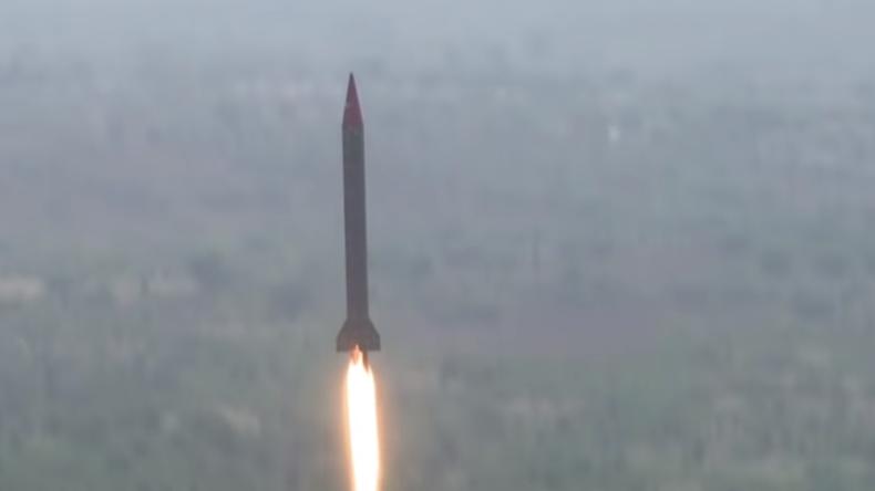 Eskalation zwischen Pakistan und Indien: Pakistan testet Systeme für atomwaffenfähige Raketen
