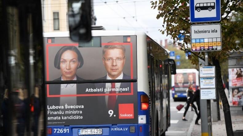 """Lettland: Als """"prorussisch"""" titulierte Partei Saskaņa gewinnt Wahlen, wird aber ausgegrenzt"""