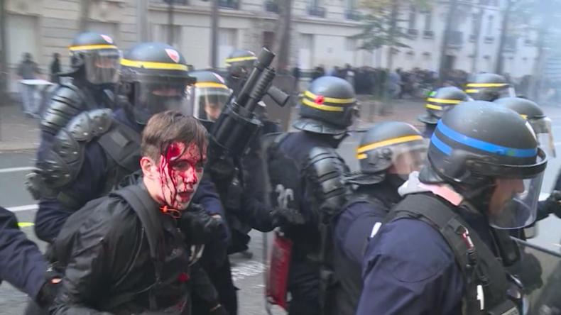 Gegen Macrons Politik: Studenten legen Uni-Betrieb lahm - Verletzte bei Protesten