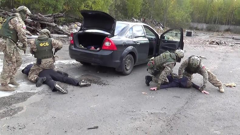Russlands Inlandsgeheimdienst FSB zerschlägt Terroristen-Schläferzelle in Gebiet Tomsk