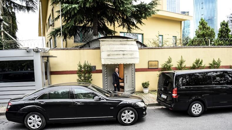 Neues Überwachungsvideo: Saudischer Journalist im Konsulat getötet & mit schwarzem Van weggefahren?