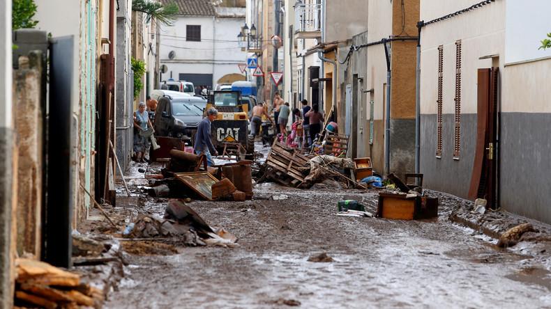 Unwetter auf Mallorca: Auch zwei Deutsche vermisst