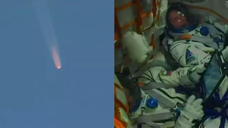 Wegen Fehlfunktion bei Sojus-Rakete: Neue ISS-Besatzung muss notlanden