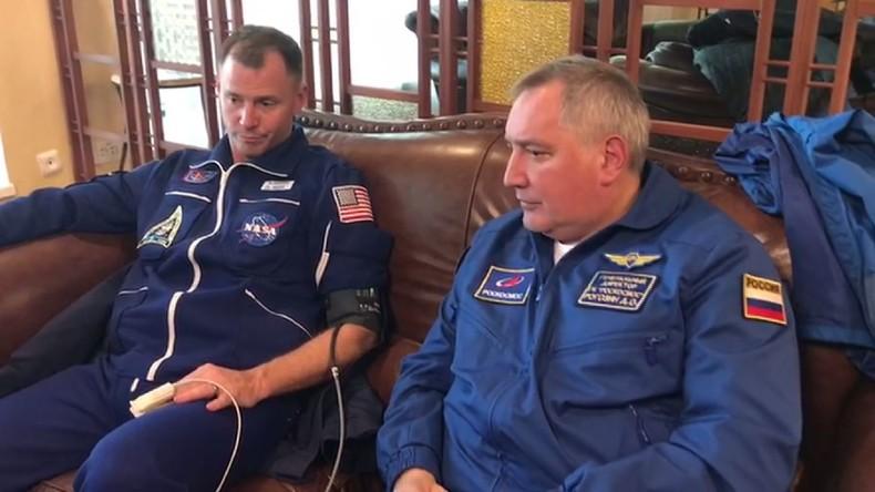 ISS Besatzungsmitglieder nach Notlandung wohlauf