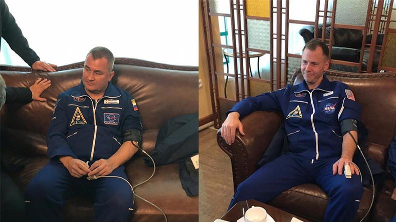 Erste Bilder von der ISS-Crew nach Notlandung in Kasachstan (Fotos, Videos)