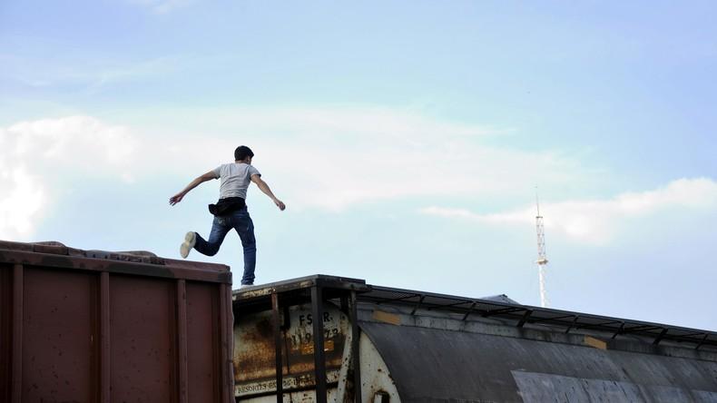 Fotografie-Student sucht nach Sujet für Bild und verliert beide Füße