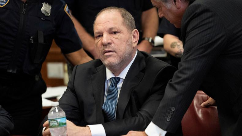 Klage gegen Ex-Filmmogul Weinstein teilweise aufgehoben