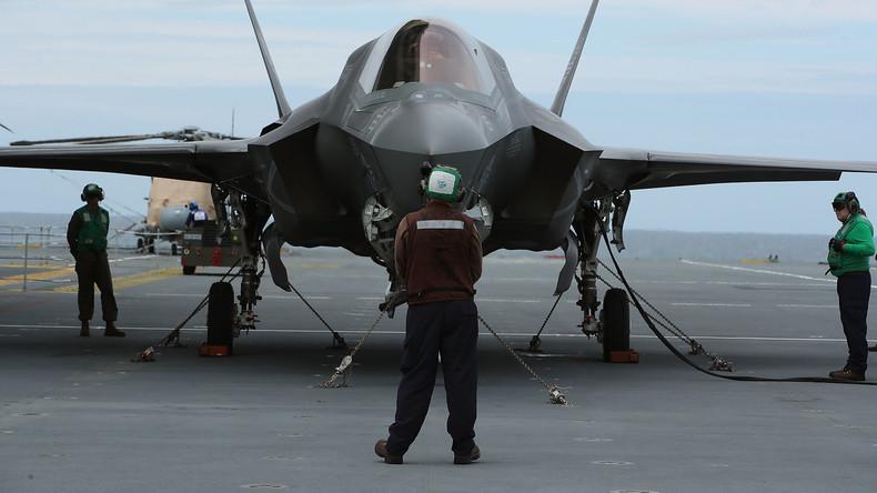Nach Absturz von F-35: Pentagon verhängt allgemeines Flugverbot für modernsten US-Kampfjet