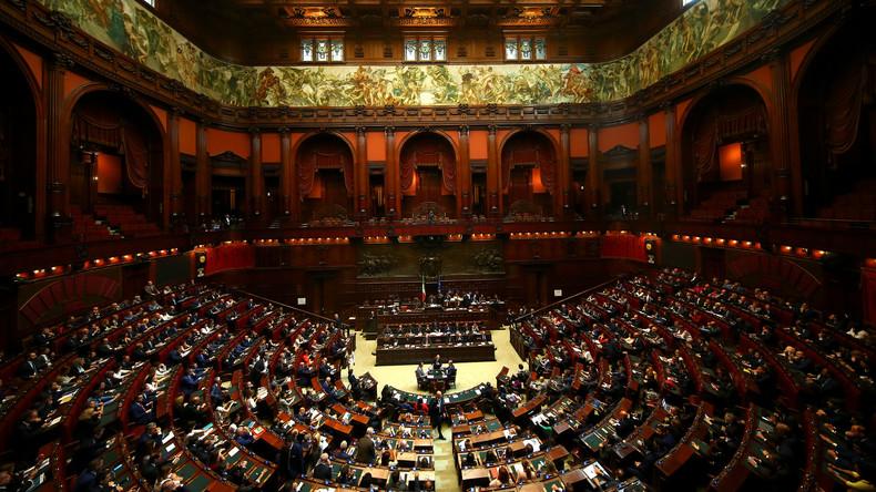 Ausweitung der Neuverschuldung: Italienisches Parlament stimmt umstrittenen Finanzzielen zu