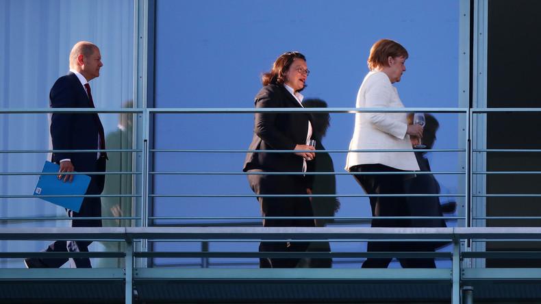 Neue Umfragekatastrophe für die GroKo - SPD nur noch vierte Kraft in Deutschland