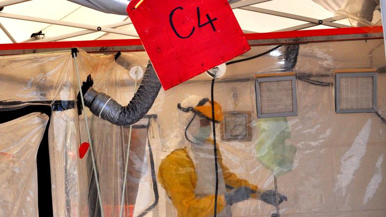 Hoch ansteckende Ebola-Leiche im Ost-Kongo zeitweise entführt