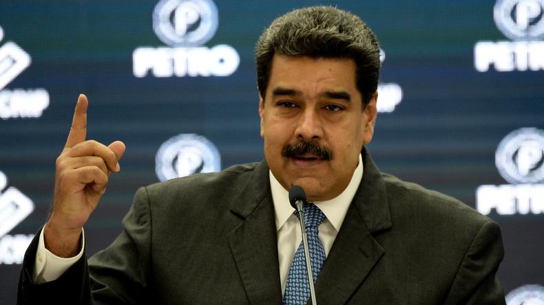 "Venezolanischer Präsident Maduro: ""Trump-Administration will mich töten lassen"""
