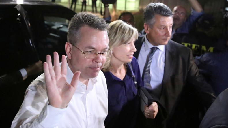 US-Botschafter empfängt US-Pastor Andrew Brunson in Ramstein