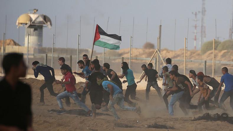 Sieben Palästinenser sterben bei Protesten an Grenze zum Gazastreifen