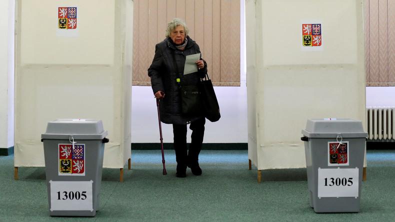 Stichwahl zum Senat in Tschechien
