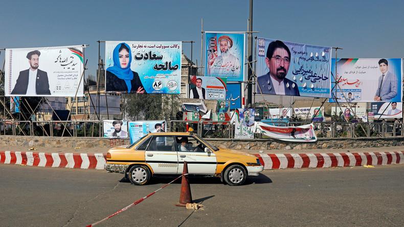 Mindestens 15 Tote bei Anschlag auf Wahlveranstaltung in Afghanistan