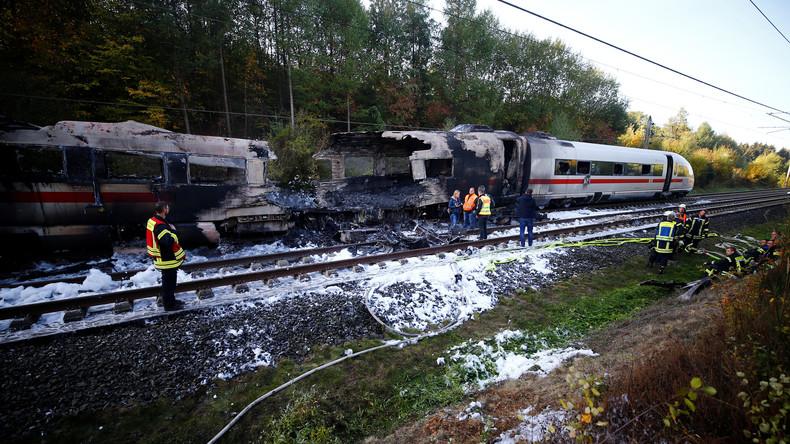Technischer Defekt löste ICE-Brand aus - Zug erst kürzlich untersucht