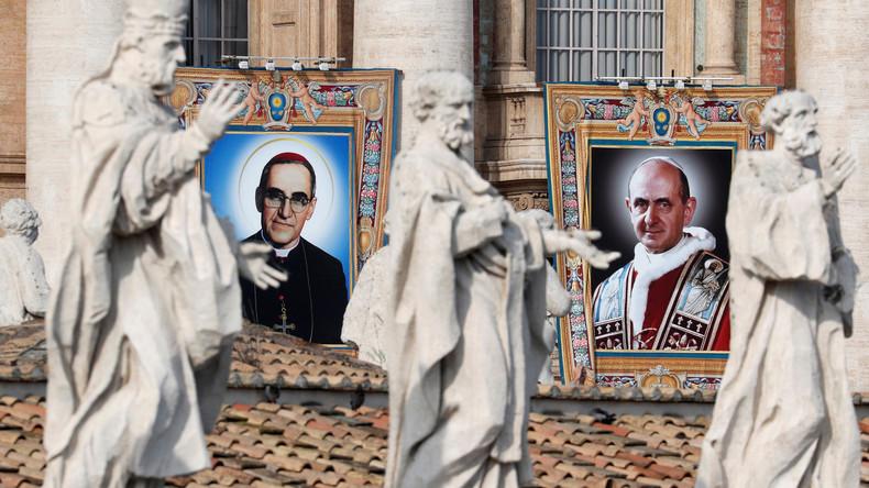 Heiligsprechungen in Rom:Papst ehrt Vorgänger und Ordensfrau