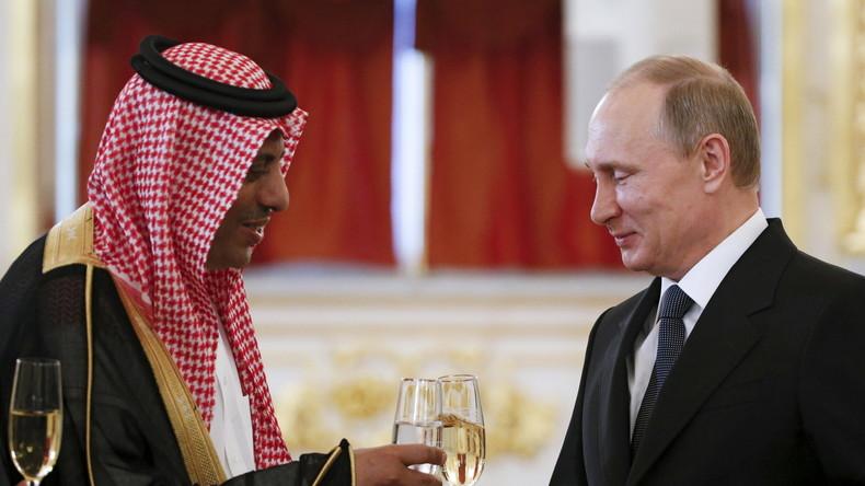 Warnungen aus Riad an die USA: Sanktionen gegen das saudische Königreich würden Russland helfen