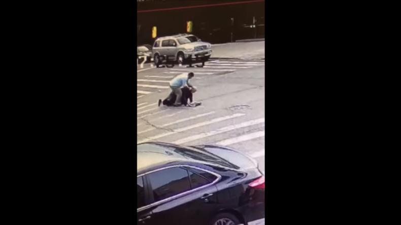 Hassverbrechen in New York? 62-jähriger Jude am hellichten Tag brutal verprügelt