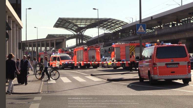 Geiselnahme: Polizei sperrt Kölner Hauptbahnhof ab
