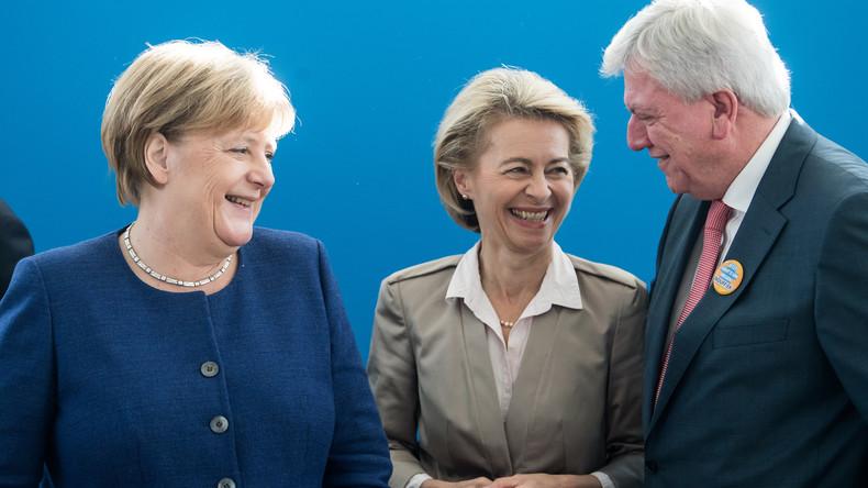CSU ist schuld: Kurz vor Hessen-Wahl kennt CDU-Vize Bouffier Schuldigen für Stimmverluste