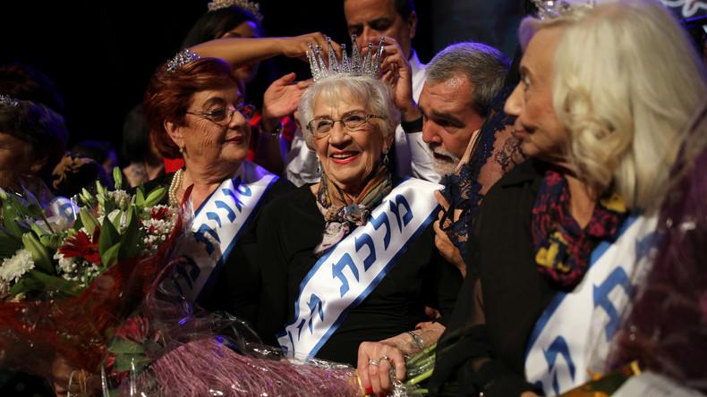 """Schönheitswettbewerb unter Holocaust-Überlebenden: 93-jährige Israelin ist """"Miss Holocaust Survivor"""""""