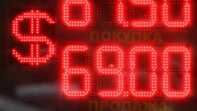 Bislang dominierte der Dollar: Medwedew plädiert für Nationalwährungen bei Zahlungsausgleich