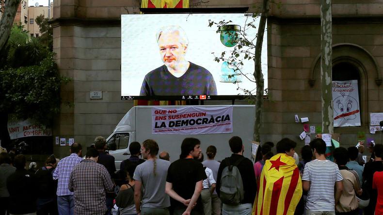 Ecuadors Bedingung für Freigabe des Internets: Assange soll sich politisch zurückhalten