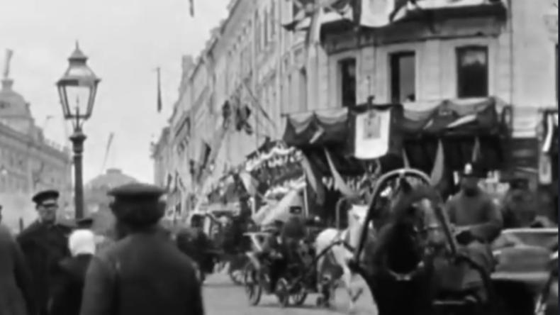 122 Jahre alte Filmaufnahmen: So sah das Zentrum von Moskau damals aus