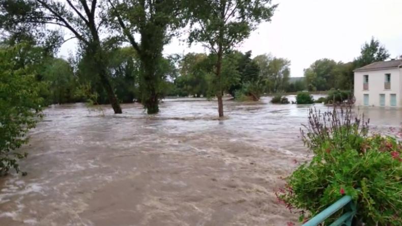 Starkregen, Sturzfluten und Überschwemmungen: Mindestens elf Menschen sterben in Frankreich