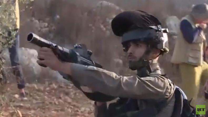 """Westjordanland: Israel schließt palästinensische Schule wegen """"Terrorismus"""" (Video)"""