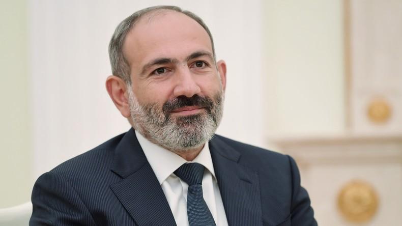 Armenischer Premierminister Paschinjan tritt zurück