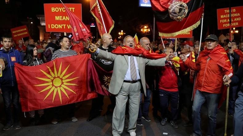 """""""Enttäuschte"""" USA wollen Mazedoniens Namensänderung trotz gescheiterten Referendums"""