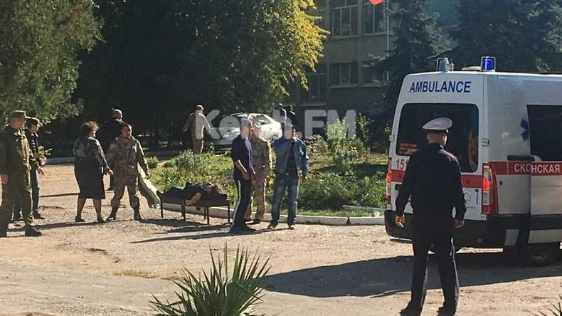 Anschlag auf Fachschule: Sprengsatz war mit Metallgegenständen gefüllt