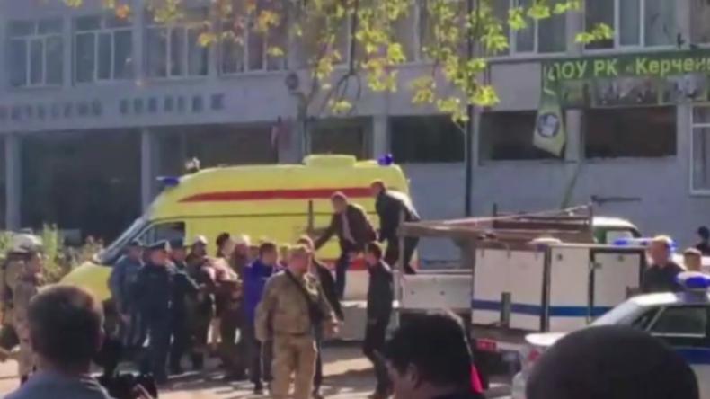 Anschlag auf der Krim: Mindestens 10 Tote und Dutzende Verletzte nach massiver Explosion